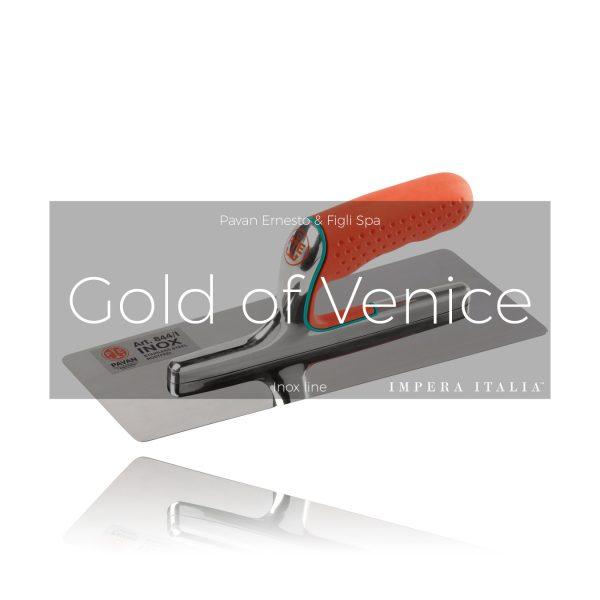 844 gold of venice polished plaster trowel