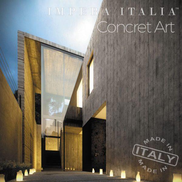 San Marco Concret Art feature wall