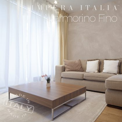 CAP Marmorino Fino sitting room