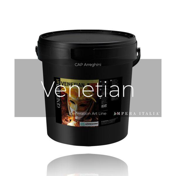 Venetian polished plaster