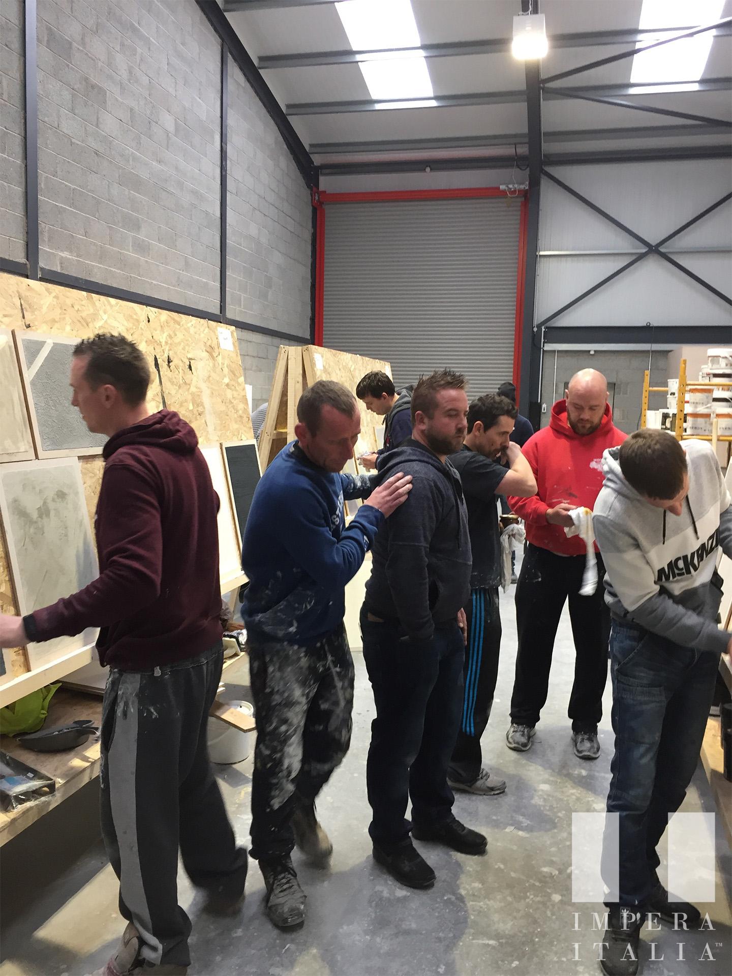Weekend Venetian Plastering Course in Ireland