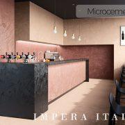 micro screed kitchen