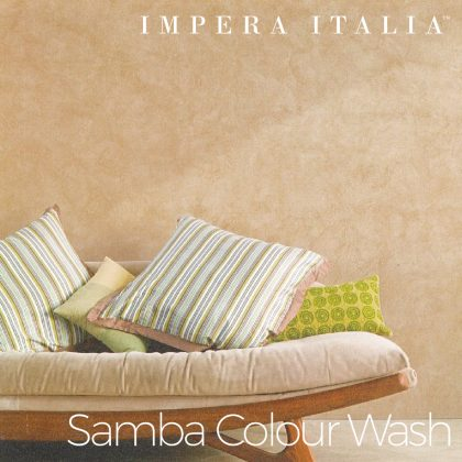 Colour Wash Feature Wall Samba