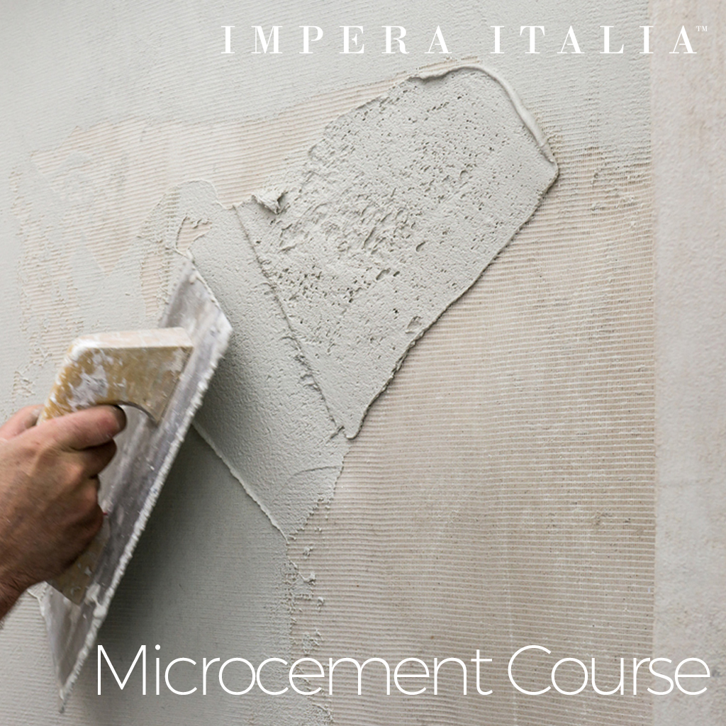 Microcement course
