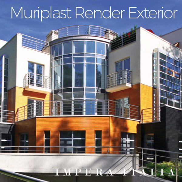 Muriplast thin coat render exterior