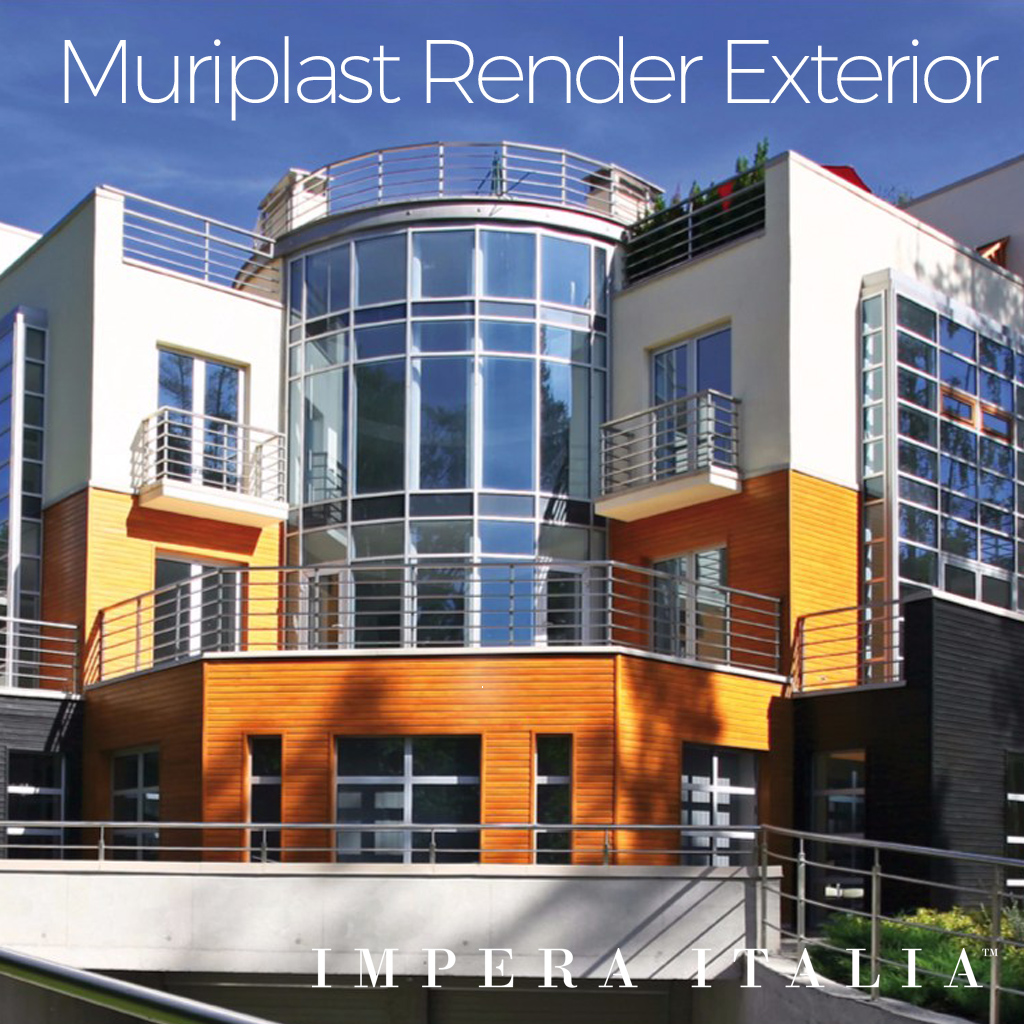 Muriplast thin coat render exterior