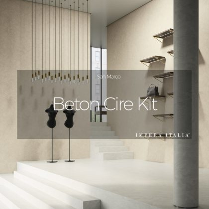 Beton cire kit