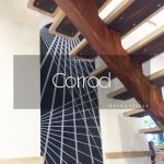 II Corrod Rust Paint Effect Metal Staircase
