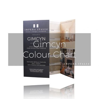 Gimcyn textured paint colour chart