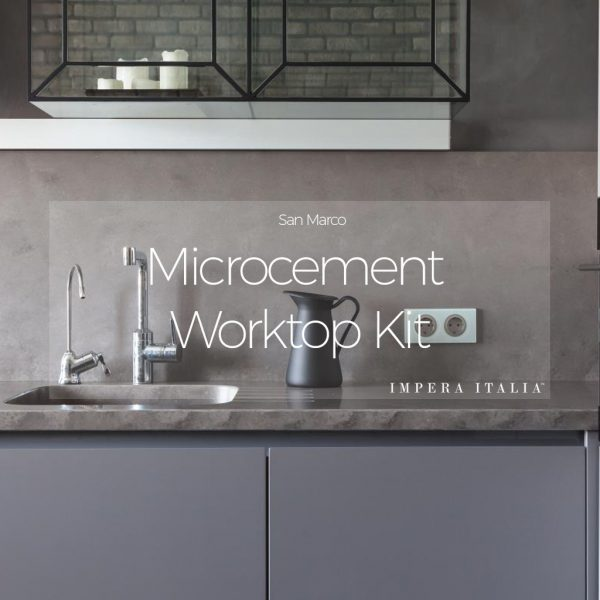 Microcement worktop kit